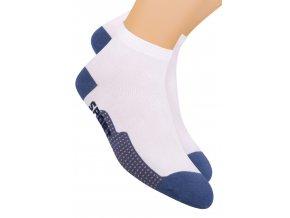 Chlapčenské členkové ponožky športové s nápisom Sport 054/105 STEVEN