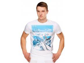 Pánske tričko s obrázkom plachetnica Fabio