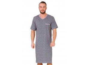 Pánska nočná košeľa Baltazar s kapsičkou M-Max