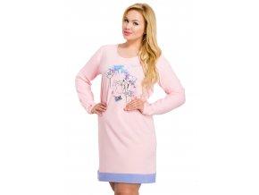 Dámska košeľa Viva nadmernej veľkosti s obrázkom kvety Taro