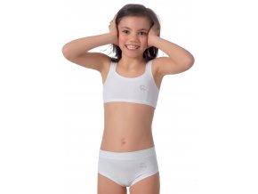 Dievčenské bavlnený top 093 Risveglia