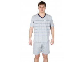 Pánske pyžamo s kraťasy 546 s nápisom Regina