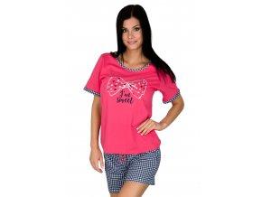 Dámske pyžamo s nápisom 880 Regina