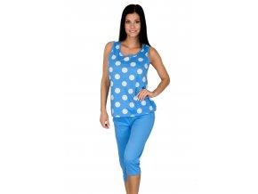 Dámske pyžamo so vzorom bodiek 891 Regina