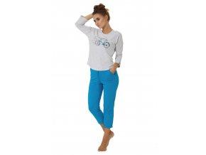 Dámske pyžamo Eleonora s obrázkom kola M-Max