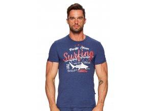 Pánske tričko s nápisom Surfing Fabio