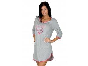 Dámska nočná košeľa 345 s nápisom Regina