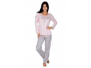 Dámske pyžamo bavlnené 893 Regina
