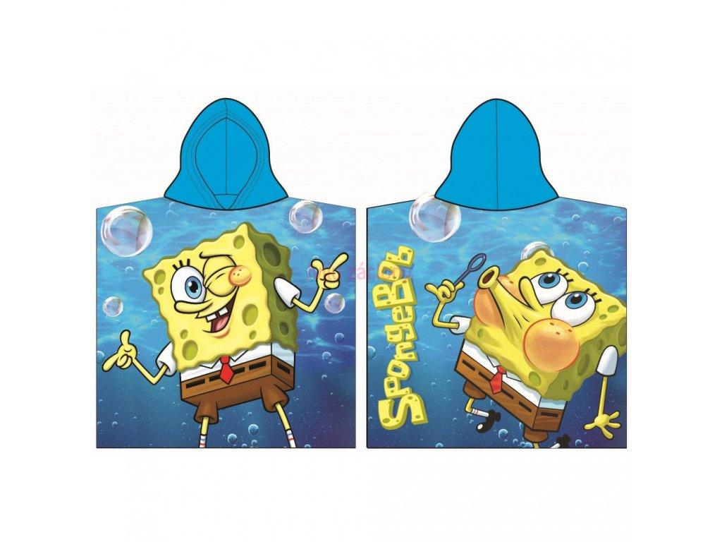 pončo spongebob