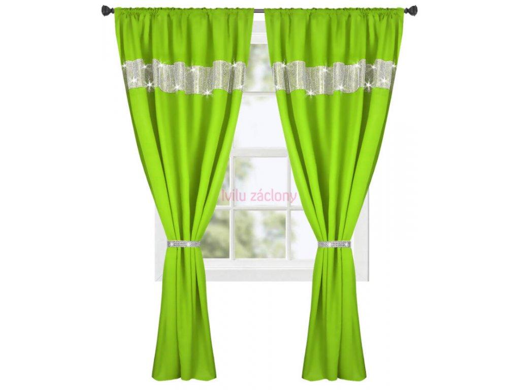 antonie zelené zirkony
