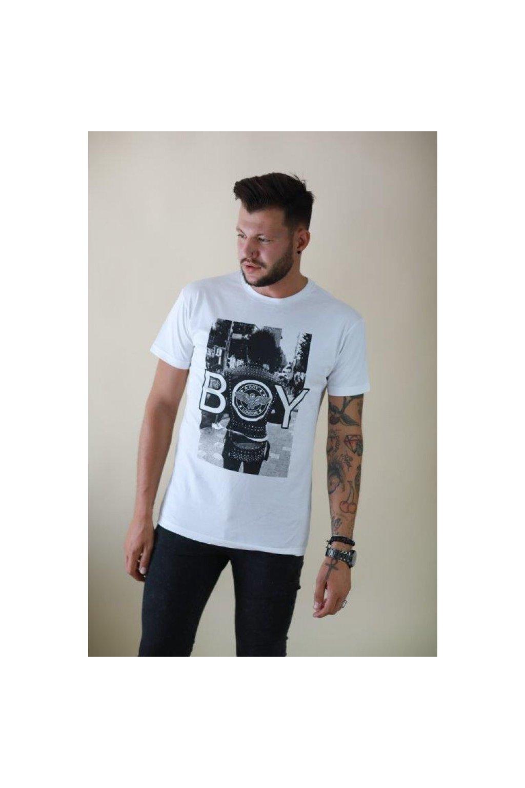 Tričko Boy London - s fotkou (Velikost Velikost XL)