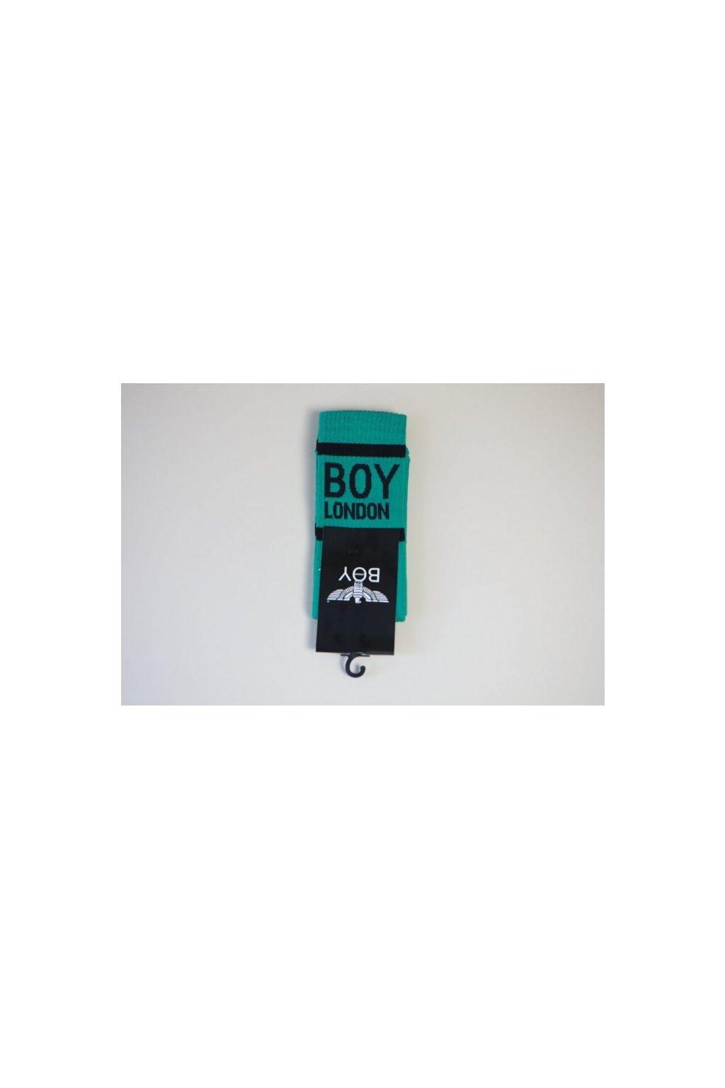 Ponožky Boy London - zelené (Velikost Velikost UNI)