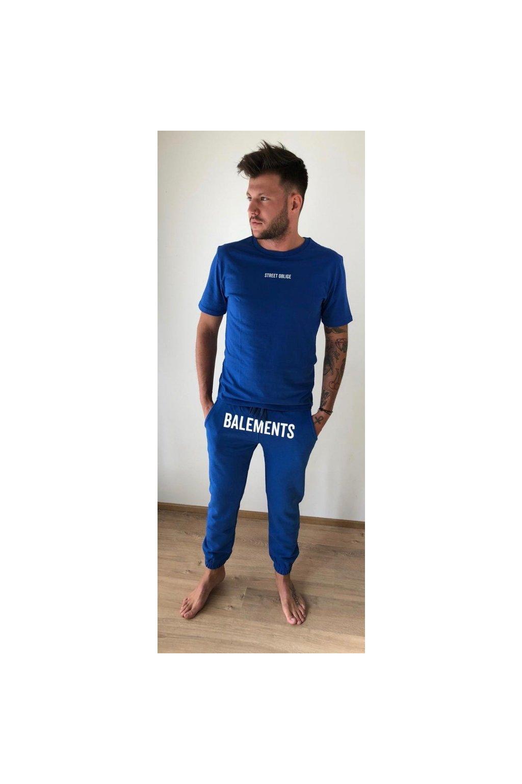 Tepláky Balements - modré (Velikost Velikost L)