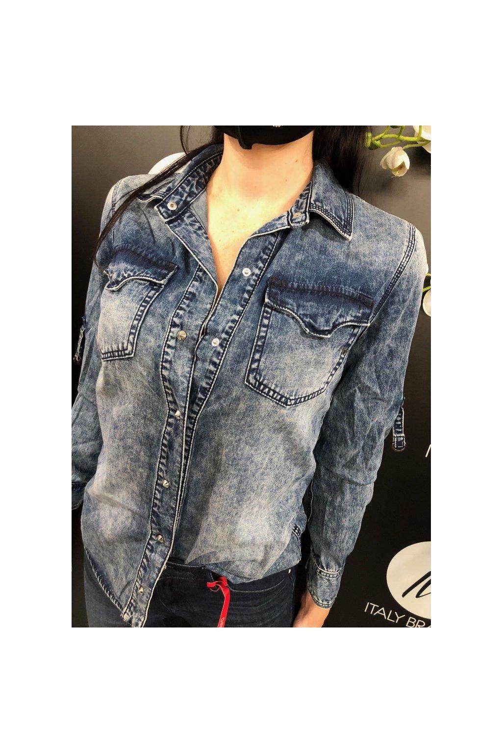 MET džínová košile Marylin (Velikost Velikost XL)