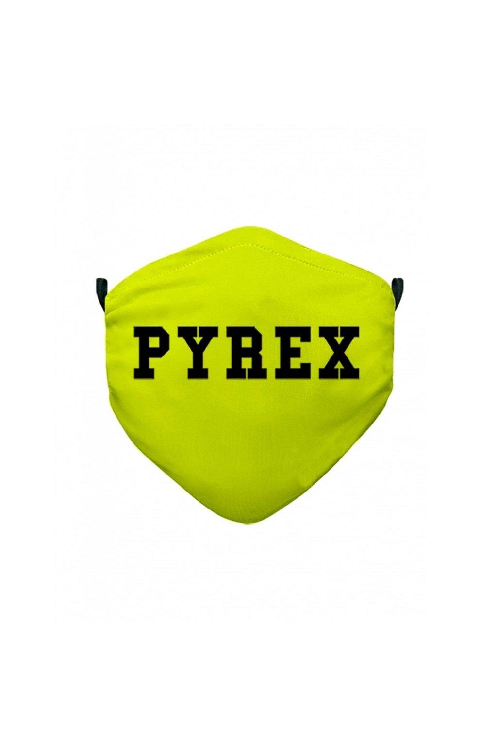 ROUŠKA PYREX - žlutý NEON - UNI (Velikost Velikost UNI)