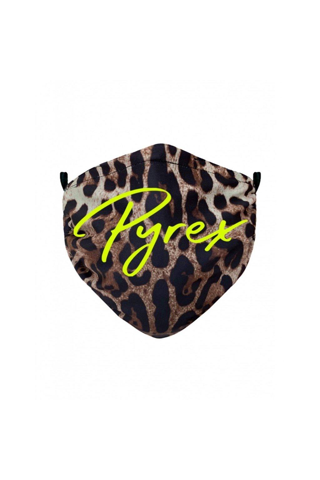 Rouška PYREX - leopard - UNI (Velikost Velikost UNI)
