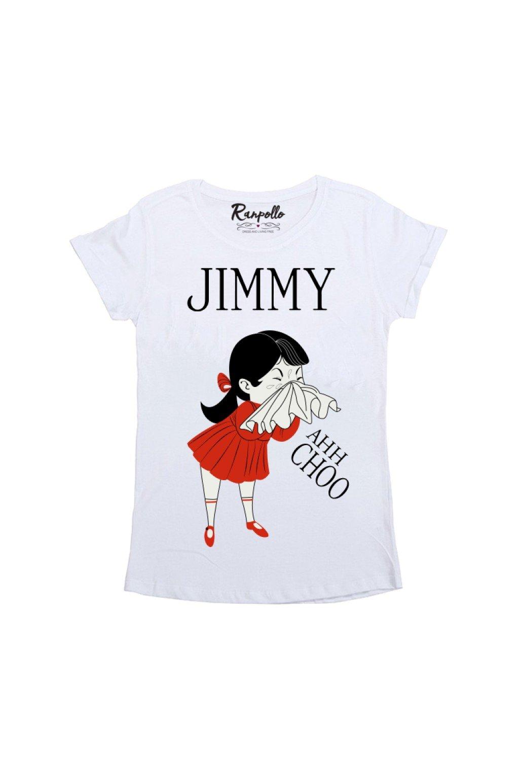 Tričko Jimmy, Ranpollo - bílé (Velikost Velikost S)