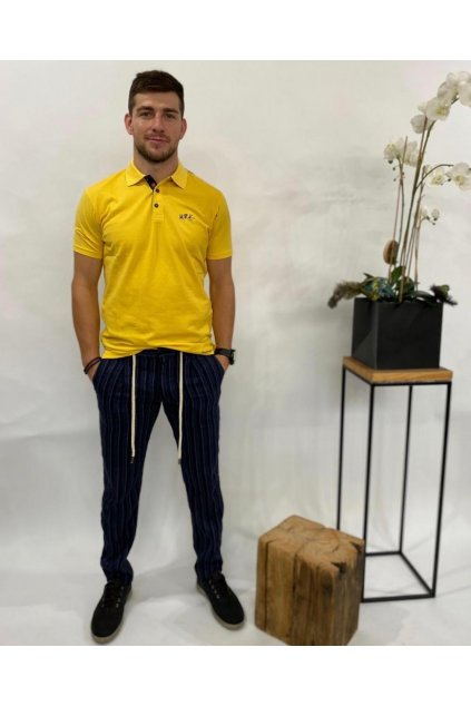 Tričko polo, MARKUP - žluté (Velikost Velikost XXL)