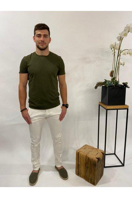 Tričko s krátkým rukávem, MARKUP - khaki (Velikost Velikost XXL)