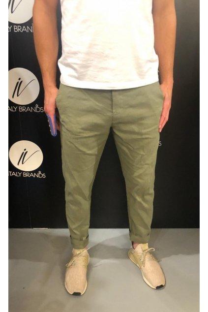 Kalhoty plátěné, IMPERIAL - khaki (Velikost Velikost 48)