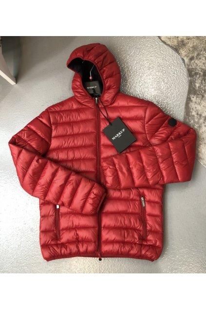 MARKUP přechodová bunda - červená (Velikost Velikost XXXL)