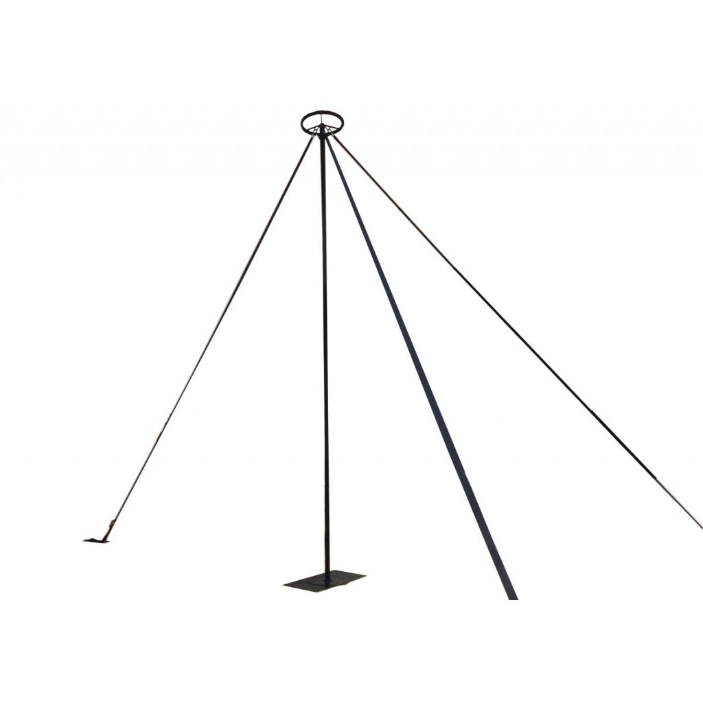 Chinese pole / 3 anchor points