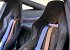 Čištění interiéru aut - kůže a textilie, čalounění aut