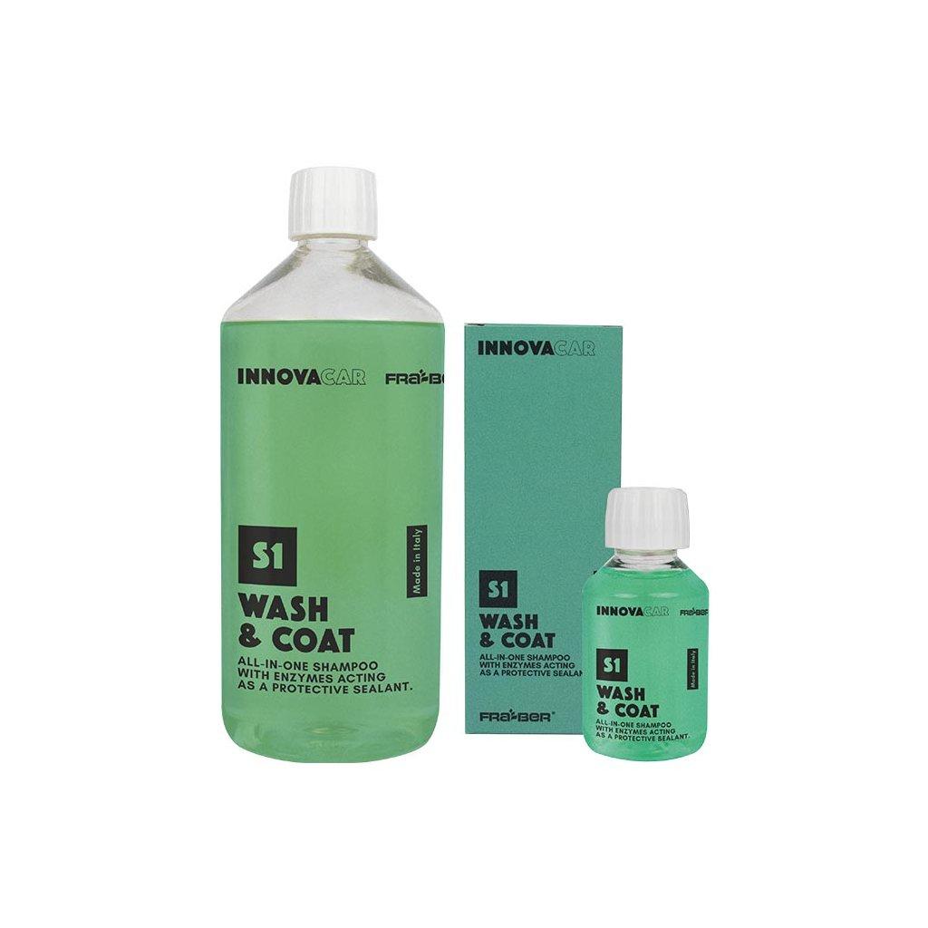 Innovacar - S1 Wash&Coat autošampon s enzymy pro mytí aut