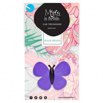 Marta La Farfalla Black Orchid