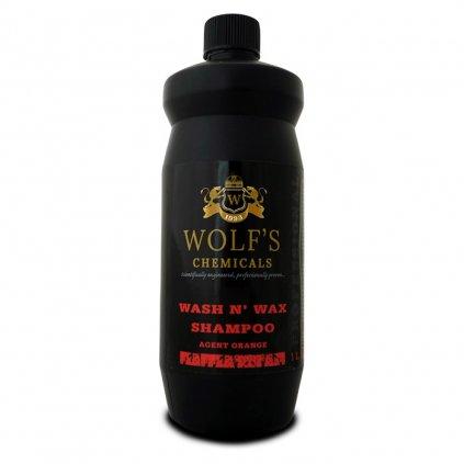 wash n wax shampoo, agent orange