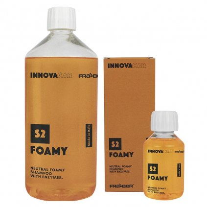 Šampon s enzymy S2 Foamy