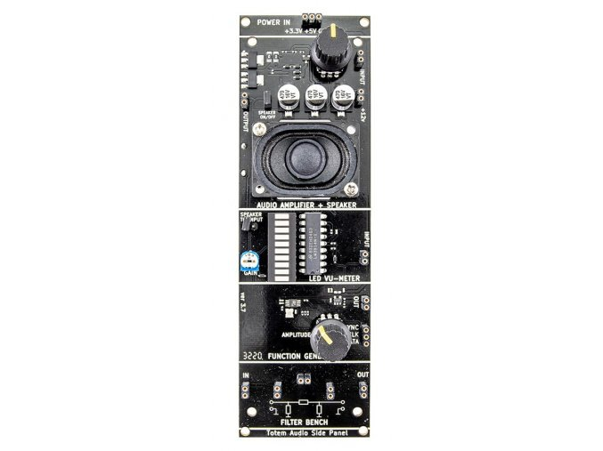 Bočný audio panel