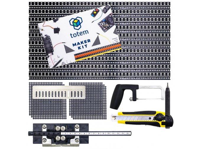 Medium Maker kit parts layout
