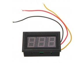 Digitálny voltmeter panelový DC 0V - 99,9V