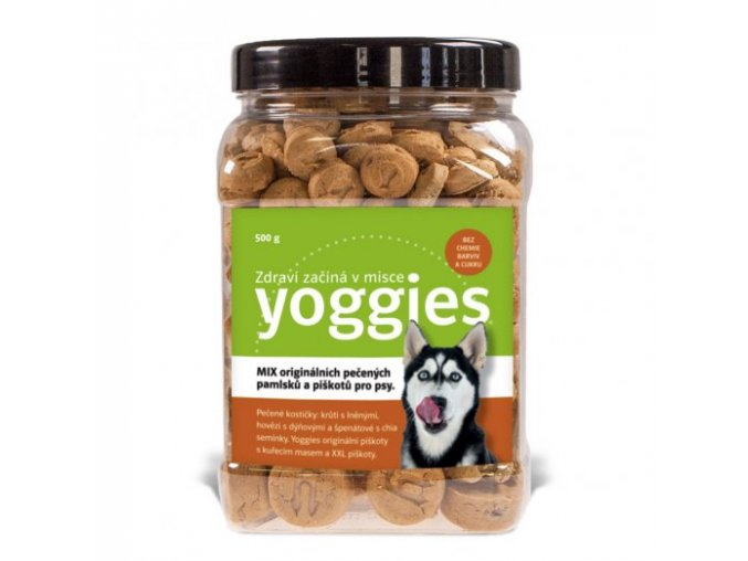 yoggies mix pecenych pamlsku 500g