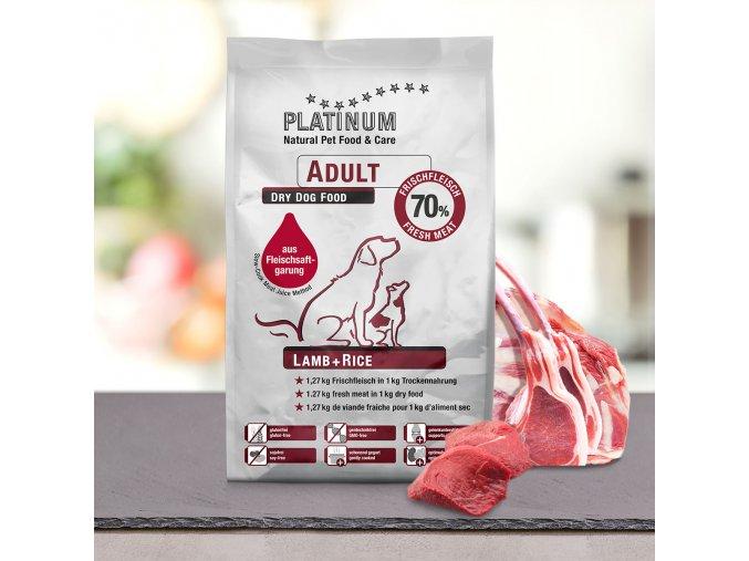 PLATINUM Natural ADULT Lamb & Rice