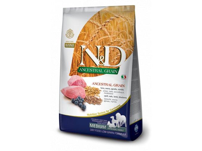120 06 120 03 ND Low Ancestral Grain canine Adult medium uk LAMB@web