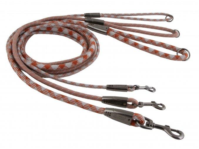 Hurtta Casual rope leashes cinnamon