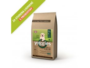 Yoggies 15 kg MINI Jehněčí granule lisované za studena s probiotiky