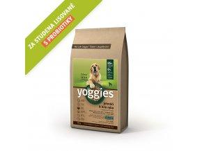 Yoggies 15 kg Jehněčí granule lisované za studena s probiotiky