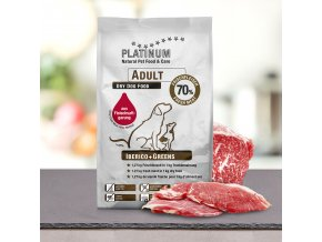 Platinum Natural Adult Iberico/Greens