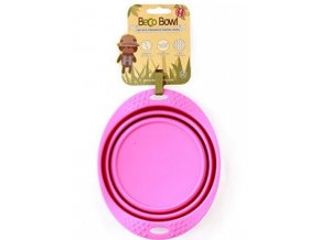 BECO TRAVEL BOWL MEDIUM PINK 500x500 700x700