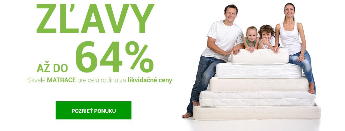 Výpredaj matracov - likvidačné ceny
