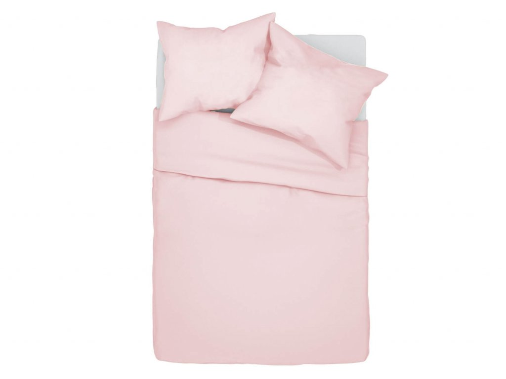 Bavlnené obliečky Klarisa - ružové