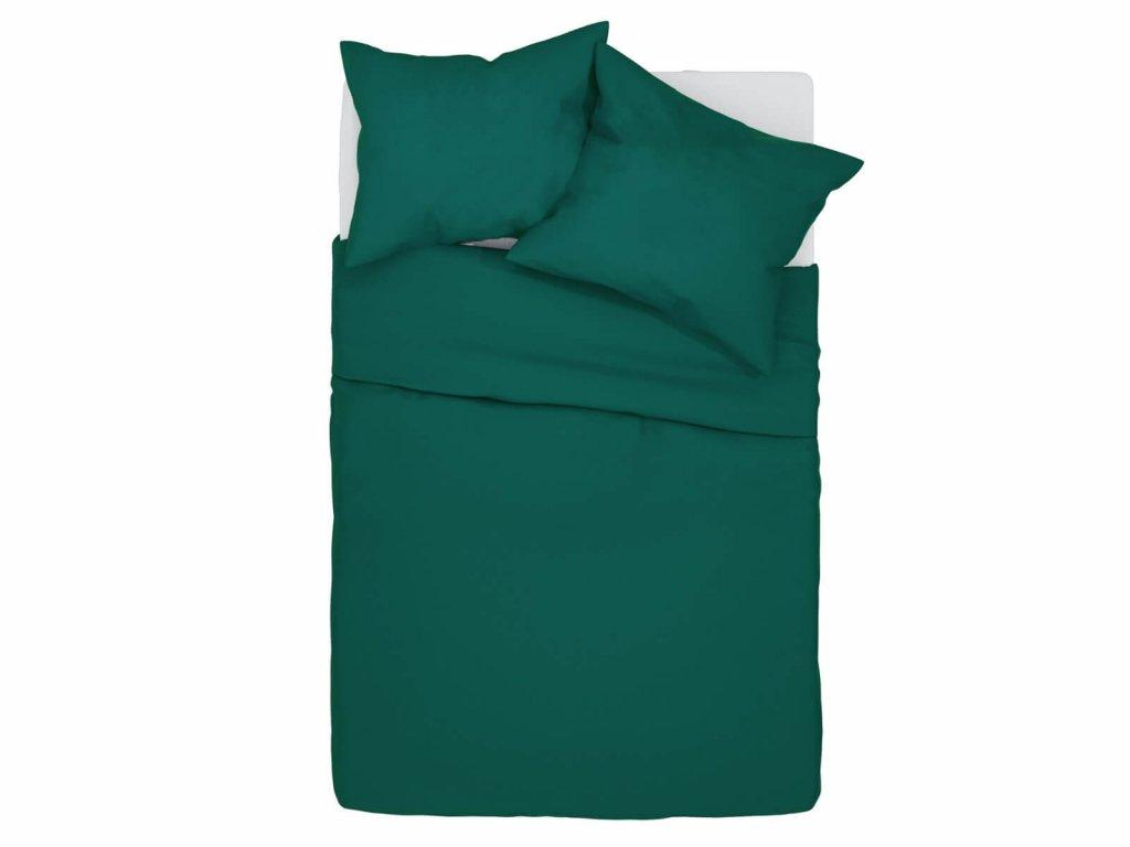 Bavlnené obliečky Klarisa - zelené