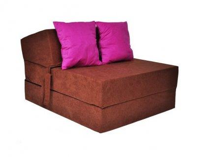 Skladací matrac karamel