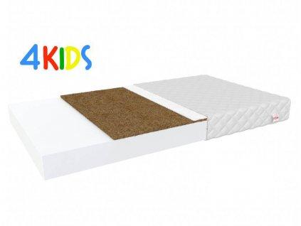Penový matrac kokosom Bambino Coir 120x60