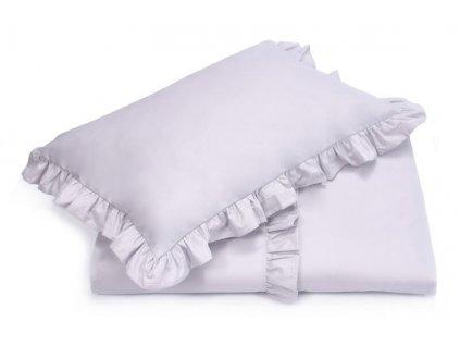 Bavlnené obliečky Royal (140x200+70x80) - sivá