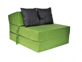 Skladací matrac zelený