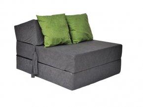 Skladací matrac šedý